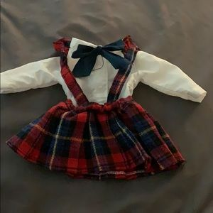 Doll school girl outfit